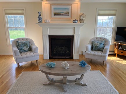 South Chatham Cape Cod vacation rental - Sitting Area in Living Room
