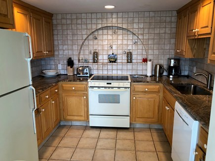 South Chatham Cape Cod vacation rental - Kitchen Open to the Dining Area