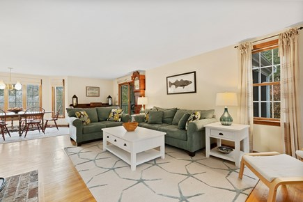 Orleans Cape Cod vacation rental - Spacious living room.