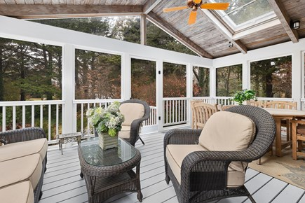 Orleans Cape Cod vacation rental - Fabulous breezy screen porch.