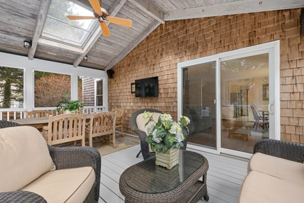 Orleans Cape Cod vacation rental - Watch TV on the porch!
