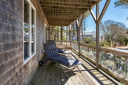 West Yarmouth Cape Cod vacation rental - Bottom deck