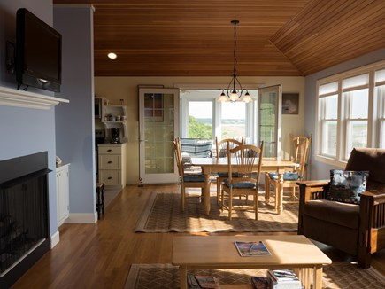 Truro Cape Cod vacation rental - Sitting area and dining