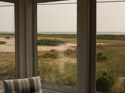 Truro Cape Cod vacation rental - View From Screened in Porch