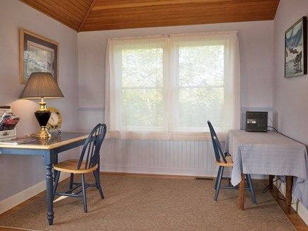 Truro Cape Cod vacation rental - Reading nook (will have a sleeper sofa)