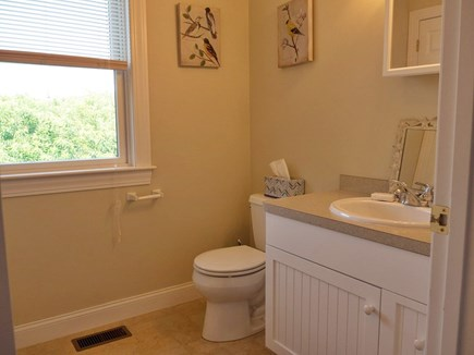 Truro Cape Cod vacation rental - Upstairs powder room