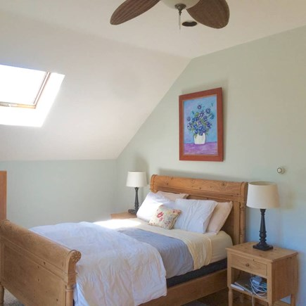Truro Cape Cod vacation rental - Queen bed in upstairs bedroom