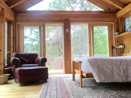 Truro Cape Cod vacation rental - Full bed in first floor bedroom