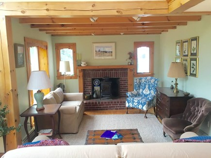 Truro Cape Cod vacation rental - Open living area on first floor