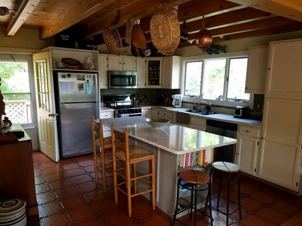 Truro Cape Cod vacation rental - Open kitchen on first floor