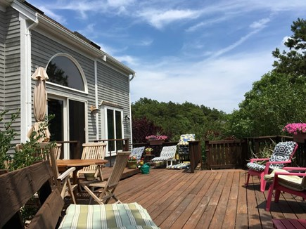 Truro Cape Cod vacation rental - Large patio - perfect for entertaining or relaxing in the sun