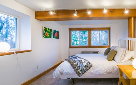 Plymouth, Ellisville  MA vacation rental - Bedroom on Lower level with Queen