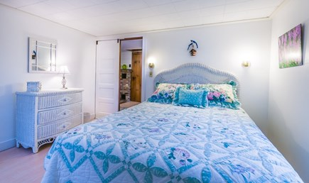 Plymouth, Ellisville  MA vacation rental - Bedroom on upper level with Queen