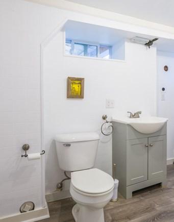 Plymouth, Ellisville  MA vacation rental - Half Bath on lower level
