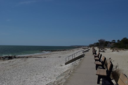 South Yarmouth Cape Cod vacation rental - One of the beaches within a half mile of cottage. Parker's River