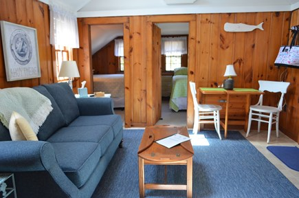 South Yarmouth Cape Cod vacation rental - Quaint living space and eating area