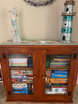Eastham Cape Cod vacation rental - Fully stocked game cabinet, hours of family fun!
