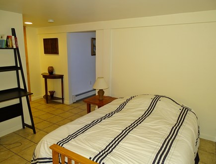 Brewster Cape Cod vacation rental - Full bedroom downstairs with own bathroom