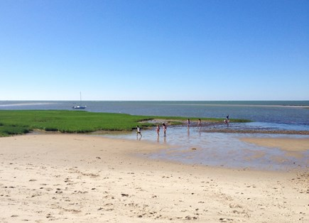 Brewster Cape Cod vacation rental - Spend the day at one of Brewster's seven Cape Cod Bay beaches