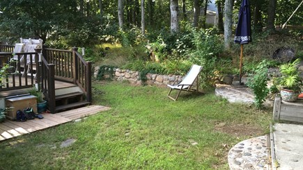 Brewster Cape Cod vacation rental - Several areas to sit and relax, grill and dine outdoors