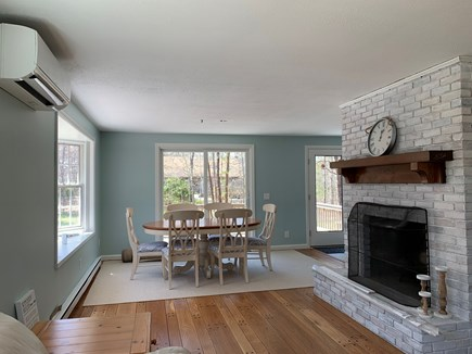 Eastham Cape Cod vacation rental - Dining area open to deck.