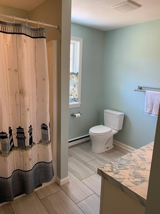 Eastham Cape Cod vacation rental - Full bathroom on first floor.