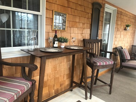 Dennis Cape Cod vacation rental - Bright front porch