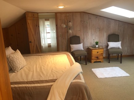 Dennis Cape Cod vacation rental - Main house second floor oversized bedroom with half bath