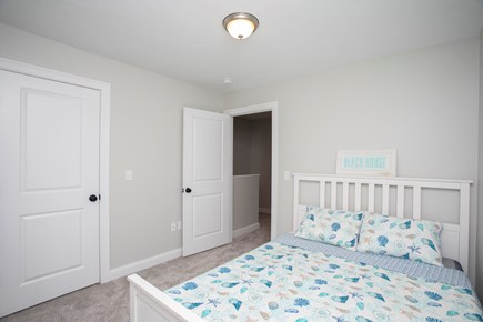 Onset MA vacation rental - Front Bedroom with queen size bed and spacious closet.
