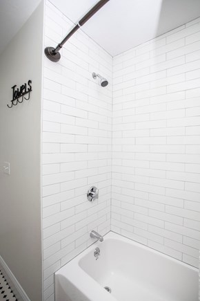Onset MA vacation rental - Bathroom shower.