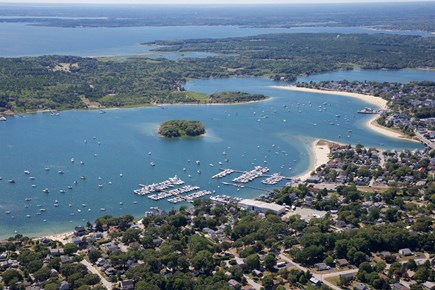 Onset MA vacation rental - An aerial view of only some of what Onset has to offer!