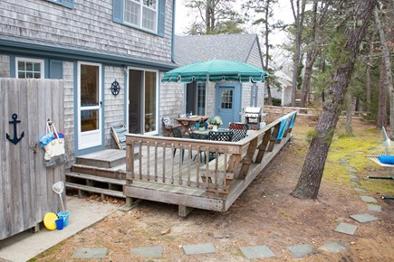 Harwich Cape Cod vacation rental - Oversized Back Deck