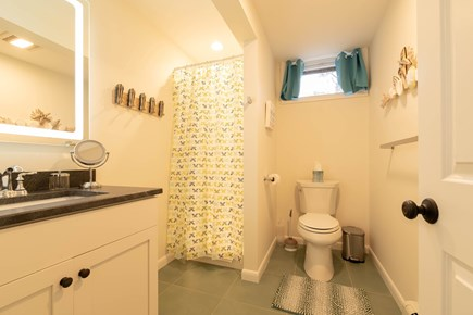 Wellfleet Cape Cod vacation rental - Lower level full bath with stand up shower