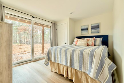 Wellfleet Cape Cod vacation rental - Lower level queen room with AC