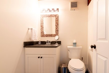 Wellfleet Cape Cod vacation rental - Main level half bath