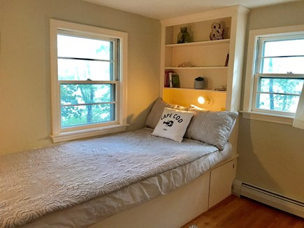 Barnstable Cape Cod vacation rental - Bedroom: Double built in bed