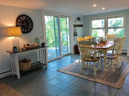 Barnstable Cape Cod vacation rental - Dining area:  ( table with 6 chairs )
