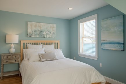 Dennis, Bass River Cape Cod vacation rental - Second Floor bedroom #3 with TV & water view