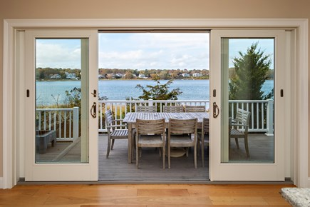 Dennis, Bass River Cape Cod vacation rental - Stunning view from Dining room/Living room and Kitchen