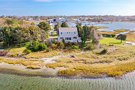 Dennis, Bass River Cape Cod vacation rental - Beautiful Views of Bass River from 7 rooms