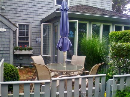 New Seabury (Mashpee) New Seabury vacation rental - One of two brick patios