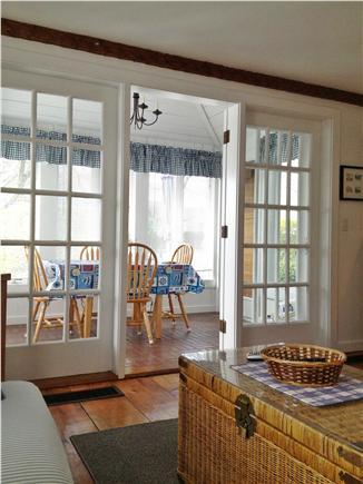 New Seabury (Mashpee) New Seabury vacation rental - Living Room has French Doors to Sun Room
