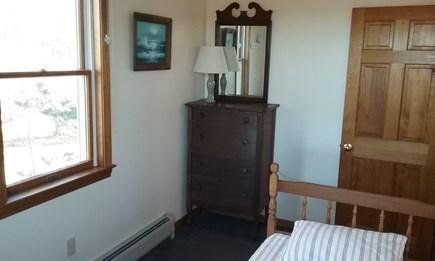 Wellfleet Cape Cod vacation rental - First floor twin back bedroom with waterviews