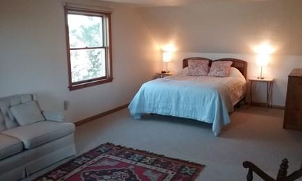 Wellfleet Cape Cod vacation rental - Main bedroom on 2nd floor with water views