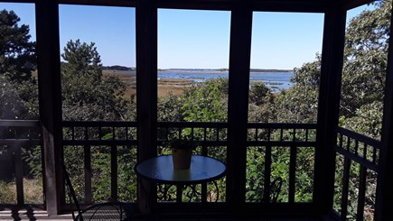 Wellfleet Cape Cod vacation rental - Screened in porch which will have a table to dine