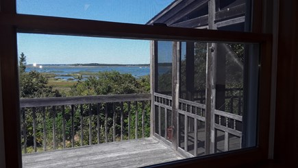 Wellfleet Cape Cod vacation rental - Looking out the kitchen window