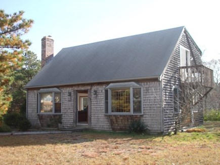 Wellfleet Cape Cod vacation rental - Deck on side and in back.