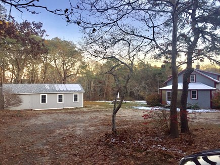 Harwich Cape Cod vacation rental - A look at property with cottage and main house
