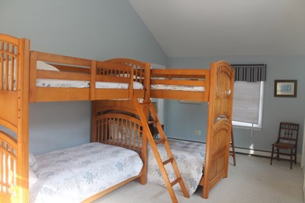 Eastham Cape Cod vacation rental - Bedroom with two bunk beds