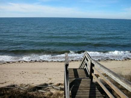 Truro Cape Cod vacation rental - Association Beach Stairs